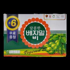 Dr. J Sweet Vegemil B 6.4oz(190ml) 24 Packs, 정식품 달콤한 베지밀 비 6.4oz(190ml) 24팩