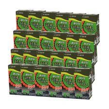 Dr.J Vegemil Black Soybean Black Sesame Soymilk 6.42oz(190ml) 24 Packs, 정식품 베지밀 검은 콩과 검은 참깨 두유 6.42oz(190ml) 24팩
