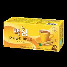 Maxim Mocha Gold Mild Coffee Mix 0.42oz(12g) 20 Sticks, 맥심 모카골드 마일드 커피믹스 0.42oz(12g) 20개입