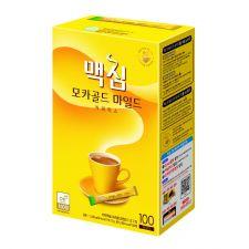 Maxim Mocha Gold Mild Coffee Mix 0.42oz(12g) 100 Sticks, 맥심 모카골드 마일드 커피믹스 0.42oz(12g) 100개입