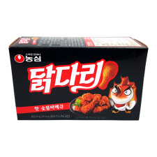 Nongshim Hot BBQ Chicken Flavor Snack 2.32oz(66g), 농심 닭다리 핫 숯불바베큐 2.32oz(66g)