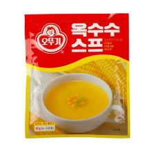 Ottogi Corn Cream Soup 2.82oz (80g), 오뚜기 옥수수 스프 2.82oz (80g)