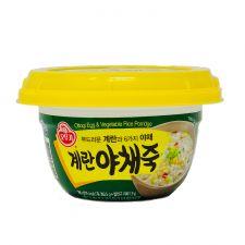 Ottogi Egg and Vegetable Rice Porridge 10.05oz(285g), 오뚜기 계란야채죽 10.05oz(285g)