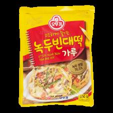 Ottogi Mungbean Pancake Mix 17.63oz(500g) , 오뚜기 녹두빈대떡 가루 17.63oz(500g)