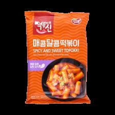 Dongwon Spicy & Sweet Topokki 8.46oz(240g), 동원 매콤달콤 떡볶이 8.46oz(240g)