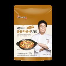 Theborn Paik Cook Sweet Topokki Sauce 6.7oz(190g), 더본 백종원의 초간단 궁중떡볶이 양념 6.7oz(190g)