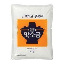 Chung Jung One Fine Seasoning Salt 17.6oz(500g), 청정원 맛소금 17.6oz(500g)