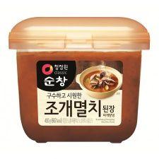 SunChang Soybean Paste Shellfish Anchovy Flavor 15.9oz(450g),순창 조개멸치된장 찌개양념 15.9oz(450g)