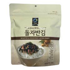 Chung Jung One Roasted & Seasoned Laver Snack 1.05oz(30g), 청정원 돌자반김 1.05oz(30g)