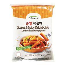 Pulmuone Sweet & Spicy Ddukbokki 16.9oz(480g), 풀무원 순쌀 떡볶이 16.9oz(480g)