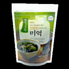 Pulmuone Sliced Dried Seaweed 3.5oz(100g), 풀무원 간편한 미역국거리 미역 3.5oz(100g)