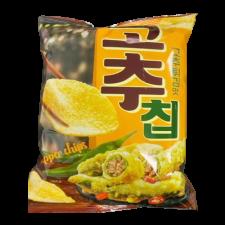 Fried Pepper Flavor Chip 3.95oz(112g), 고추칩 고추튀김맛 3.95oz(112g)