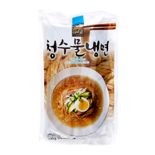 Choung Soo Mul Naengmyeon (Korean Cold Noodle) 25.40oz(720g), 청수 물 냉면 건면 25.40oz(720g)