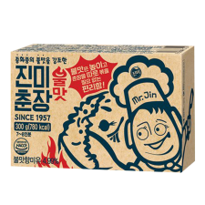 Jinmi Foods Black Bean Paste with Smoky Flavor 10.58oz(300g), 진미식품 진미춘장 불맛 10.58oz(300g)