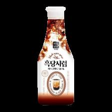 NOK CHA WON Black Sugar Syrup 1.21lb(550g), 녹차원 흑당시럽 1.21lb(550g)