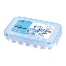 Komax Biokips Ice Cube Tray 1 Ea , 코맥스 뚜껑있는 아이스 큐브 트레이 1개