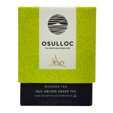 Osulloc Jeju Orchid Green Tea Blended Tea 0.52oz(0.05oz X 10 Tea Bags), 오설록 제주난꽃향 그린티 15g(1.5g X 10티백)