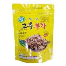 SG FOOD Premium Fried Hot Pepper 2.12oz(60g), 성경 고추부각 2.12oz(60g)