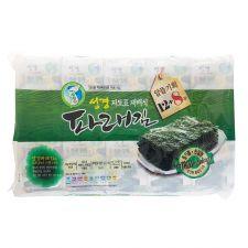 SG Food Seasoned Green Laver 2.82oz(80g) 20 Packs, 성경 파래 도시락김 2.82oz(80g) 20개입