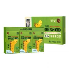 Kids Red Ginseng for 8-13 Years 0.85oz(25ml) 30 Pouches