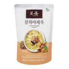 Bonjuk Tuna Vegetable Rice Porridge 1.1lb(500g), 본죽 참치야채죽 1.1lb(500g)