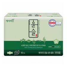 Silk Touch Cotton Sanitary Pads Mild M 16 Pcs