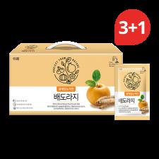 Erom Pear & Balloon Flower Root Juice 71 fl.oz(2100ml) 30 pouches (Set of 4), 이롬 배도라지 71 fl.oz(2100ml) 30포 (Set of 4)
