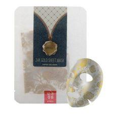 NOHJ 24K Gold Sheet Mask Super Collagen 0.91oz(26g), NOHJ 24K 골드 테라피 마스크팩 슈퍼콜라겐 0.91oz(26g)