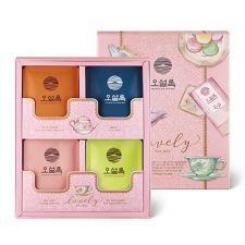 Osulloc Lovely Tea Box (Gift Set) 12 Tea Bags, 오설록 러블리 티박스 12티백