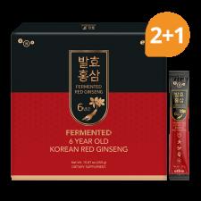 Erom Fermented Korean Red Ginseng 15.87oz(450g) 30 packets (Set of 3), 이롬 6년근 발효홍삼 15.87oz(450g, 30포) (Set of 3)