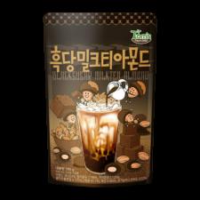 Gilim Black Sugar Milktea Almond 6.7oz(190g), 길림 탐스팜 흑당밀크티 아몬드 6.7oz(190g)
