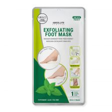 Absolute Newyork Exfoliating Foot Mask (Peppermint+Aloe+Tea Tree), 앱솔루트 뉴욕 발 각질 제거 마스크팩 (페퍼민트+알로에+티트리)