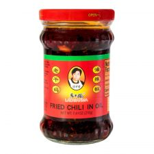Lao Gan Ma Chili Oil 7.4 oz(210g), Lao Gan Ma 칠리 오일 7.4 oz(210g), 老干媽 油辣椒 7.4 oz(210g)