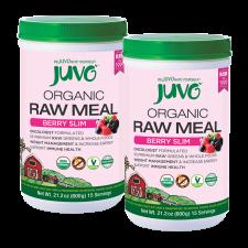 JUVO Organic Raw Meal Berry Slim (Set of 2)