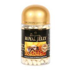 Evergreen Royal Jelly 10HDA 30mg 120 Caps, 에버그린 로얄젤리 10HDA 30mg 120정, Evergreen 蜂王漿膠囊 10HDA 30mg 120粒