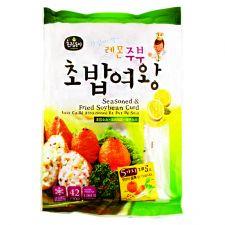 Choripdong Seasoned Fried Soybean Curd 17oz(482g), 초립동이 레몬 주부 초밥여왕 17oz(482g)