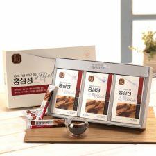 Hansamin Korean Red Ginseng Extract Stick 0.3oz(10ml) 30 Sticks, 한삼인 홍삼정 스틱 0.3oz(10ml) 30스틱,韓參印 韓國紅參精濃縮液條(隨身包) 0.3oz(10ml) 30條