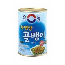 Yu Dong Bai Top Shell 14.1oz(400g), 유동 자연산 골뱅이 14.1oz(400g)