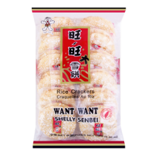 Want Want Shelly Senbei Rice Crackers 5.29oz(150g), Want Want 센베이 쌀과자 5.29oz(150g), 旺旺 Shelly Senbei Rice Crackers 5.29oz(150g)
