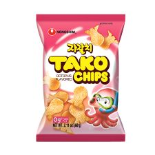 Tako Chips Octopus Flavor 2.11oz(60g)