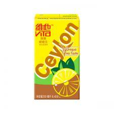 Vita Ceylon Lemon Tea 8.45oz(250ml) 6 Packs, 비타 실론 레몬맛 홍차 8.45 fl.oz(250ml) 6팩, 維他 錫蘭檸檬茶 8.45 fl.oz(250ml) 6 Packs