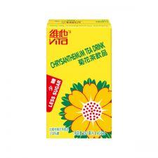 Vita Less Sugar Chrysanthemum Tea 8.45oz(250ml) 6 Packs, 비타 LESS SUGAR 국화꽃차 8.45 fl.oz(250ml) 6팩, 維他 菊花茶少糖 8.45 fl.oz(250ml) 6 Packs