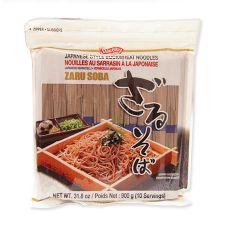 Shirakiku Japanese Buckwheat Noodles Zaru Soba 31.8oz(900g), 시라키쿠 일본식 메밀 국수 자루소바 31.8oz(900g)