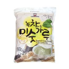 Choripdong Roasted Grain Powder with Green Tea 2.2lb(1kg), 초립동이 녹차가든 20곡 미숫가루 2.2lb(1kg), Choripdong 綠茶穀物粉 2.2lb(1kg)