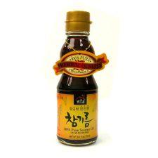 Haioreum 100% Pure Sesame Oil 6.2oz(177ml), 해오름 황금빛 참진한 참기름 6.2oz(177ml)
