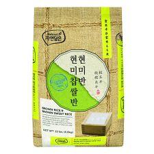 Natures Brown Rice Brown Sweet Rice 15lbs (6.8kg), 자연담은 현미반 현미찹쌀반 15lbs (6.8kg)