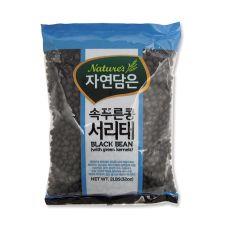 Natures Black Bean with Green Kernels 2lb(907g), 자연담은 속푸른콩 서리태 2lb(907g)