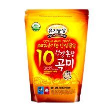 Organic Farm Organic Mixed Grains (10 Different Kinds) 3lb(1.36kg), 유기농장 유기농 건강혼합 10곡미 3lb(1.36kg), 有機農場 Organic Mixed Grains (10 Different Kinds) 3lb(1.36kg)