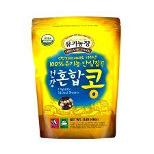 Organic Farm Organic Mixed Beans 3lb(1.36kg), 유기농장 100% 유기농 안심잡곡 건강혼합 콩 3lb(1.36kg), 有機農場 Organic Mixed Beans 3lb(1.36kg)