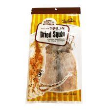 TongTongBay Dried Whole Squid Fillet 3.5oz(100g), 통통배 마른오징어 3.5oz(100g)